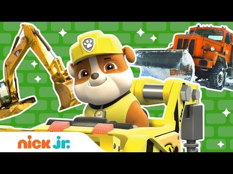 PAW Patrol: Construction Truck Rescue Game w/ Rubble | Nick Jr.