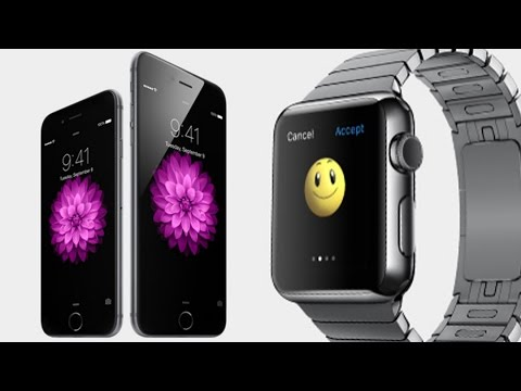 Apple Unveils Apple Watch, iPhone 6, 6 Plus and Apple Pay