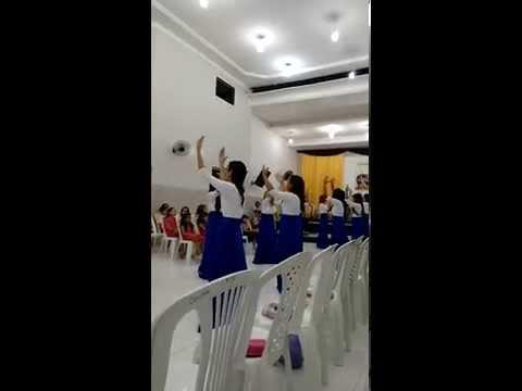 Grupo de gestos Ágape - Assembléia de Deus em Monte Alegre-RN