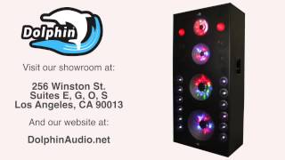 Download Lagu Dolphin SP-183 BT Party Speaker System with Sound Activated Lights Mp3