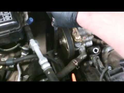 Timing belt replacement Honda Odyssey 1998-2004 3.5L V6 water pump too