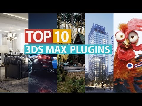 TOP 10 3ds Max Plugins in 2019