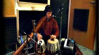 Video Sanctus/Gayatri mantra - realtime looping composition