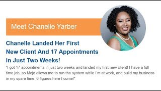 How Chanelle Landed Her First New Client And 17 Appointments in Just Two Weeks!