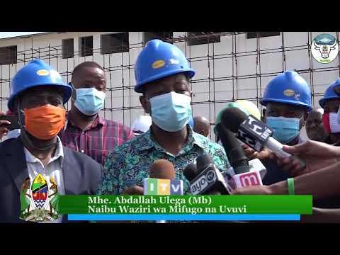 Naibu Waziri wa Mifugo na Uvuvi Mhe. Abdallah Ulega atembelea Machinjio ya Vingunguti