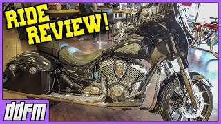 5. 2017 Indian Chieftain Limited Specs and Indian Chieftain Limited Review by Motos With Matt!