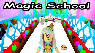 Enjoy as I play some fun Roblox games. Its my first day at Enchantix High School where you can learn magic. Enjoy as I walk around the school, go to my locker, make friends with cookie fan students and go to each class. :DPlay it too: https://www.roblox.com/games/735030788/Fairies-Mermaids-Winx-High-School-BetaFREE Subscription Never miss a video!  Click here : http://bit.ly/1RYkDF6Watch More Cookie Swirl C  Toy Videos from Playlist:Lightning Mcqueen Is In Jail!!!! Cars Roblox Obby Crazy Obstacle Course Game Play https://youtu.be/3YSbEHwXHMUPoppy Obby Giant Dreamworks Trolls  + Rainbow Shapes Obstacle https://youtu.be/kgYc8QsuswgGiant Fidget Spinners Rainbow Shapes Obby & Hide and Seek Extreme https://youtu.be/slFrsf8RxtENum Noms School Day with Barbie Doll Teacher + Classroom  https://youtu.be/28lKI3dZ8zwAt School During Summer Break!? Escape the School Obby - Obstacle Course Roblox Game Play https://youtu.be/VUx8KJGxwgsLOL Surprise Ride Bus + Go To School - Pee, Spit  or Cry ? - Lil Sisters Baby Dolls Blind Bag https://youtu.be/z3GDVEuW9fEBarbies Go To School with Mini Shopkins Backpacks - Teacher Opens Season 5 Packs with Blind Bags https://youtu.be/Qea4UkS44BI◕‿◕Who Is Cookieswirlc - a unique channel bursting with fun, positive, happy energy featuring popular videos on Disney Frozen, Princesses, Littlest Pet Shop LPS, Shopkins, mermaids, My Little Pony MLP, LOL Surprise baby dolls, Lego, Barbie dolls, Play Doh, and much muchy more!!! Everything form stories, series, movies, playset toy reviews, hauls, mystery surprise blind bag openings, and DIY do it yourself fun crafts!www.cookieswirlc.com◕‿◕You rock cookie fans! I'll see you in my next video! - Cookie Swirl C