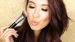 How To Cream Highlight & Contour | Jaclyn Hill