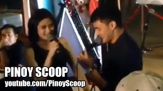 Sarah Geronimo And Matteo Guidicelli Holding Hands
