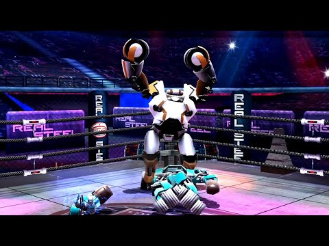 REAL STEEL WRB Nitro VS Bluebot & Gridlock & Fat Boy & Blockbuster