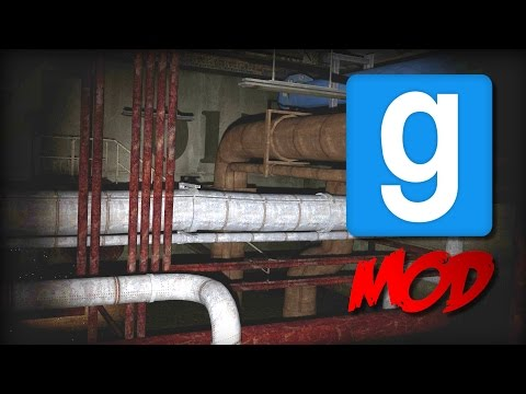 Garry's Mod: SCARY PIPES OF DEATH SCP-015 | Mod Showcase