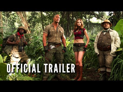 Jumanji Welcome to the Jungle Official Trailer