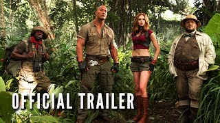Jumanji  Welcome To The Jungle   Official Trailer  Hd