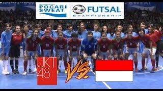 Video KOCAK!!! Futsal JKT48 VS Indonesia Woman All Star @Pocari Sweat Futsal Championship 2017 MP3, 3GP, MP4, WEBM, AVI, FLV Februari 2018