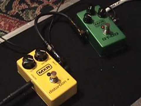 gearmanndudeGT-OD and Distortion + pedal demo
