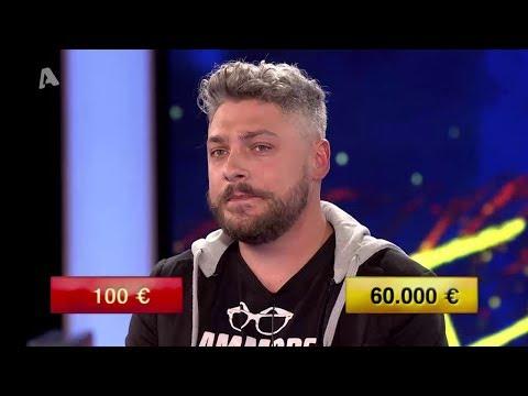 Video - Πατρινός ταξιτζής τίναξε τη μπάνκα στο Deal και κέρδισε 60.000 ευρώ! (vid)