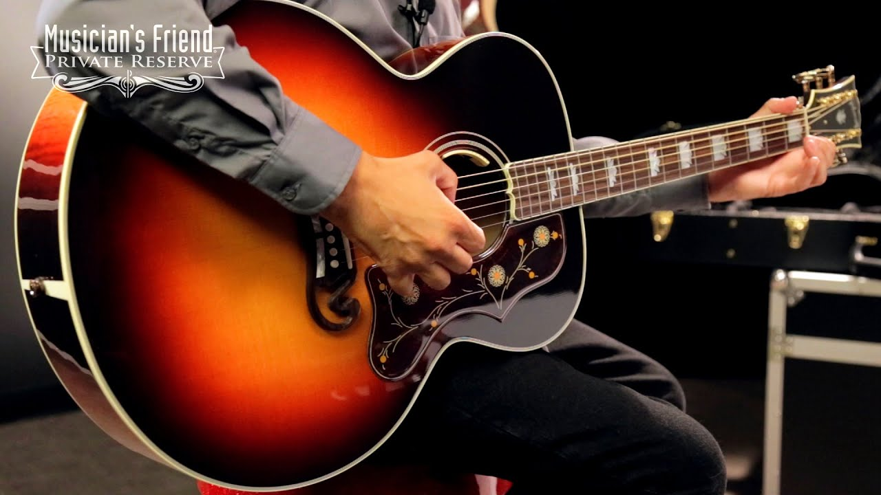 Gibson Limited Edition SJ-200 Special Acoustic-Electric Guitar, Triburst