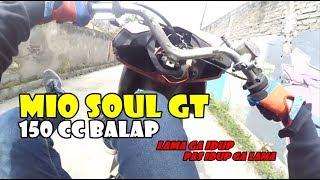 Testride Mio Soul GT 150cc Stelan Balap yg Jarang Dipake & Coba Oli Enak