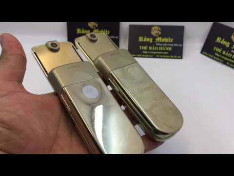 Cách nhận biết nokia 8800 siroco Gold zin chính hãng và siroco vỏ phím mới