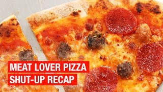 Meat Lover Pizza Recipe Recap [ No Voice/ No Music ] by Alex French Guy Cooking