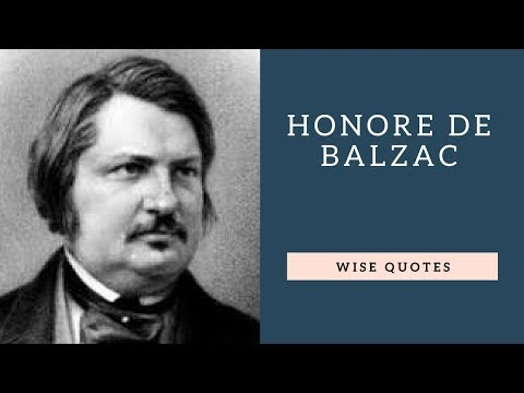 Happiness quotes - Honore De Balzac Sayings Quotes  Positive Thinking & Wise Quotes Salad  Motivation  Inspiration