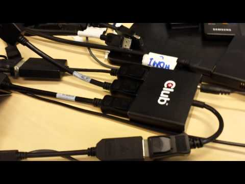 Club 3D MST Hub and Microsoft Surface Pro 2 tablet Part 2
