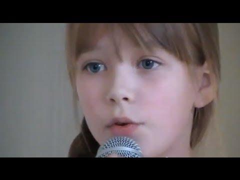 Connie Talbot śpiewa piosenkę Adele