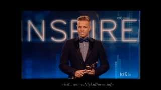 Nicky Byrne presenting Young Person of the Year award 2013 14-09-13