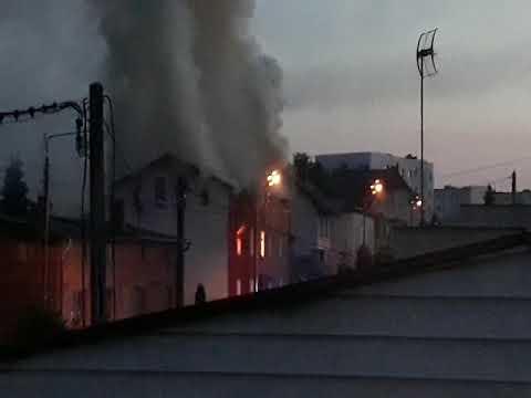 Nieumyślne zaprószenie ognia przyczyną pożaru przy ul. Chojnickiej