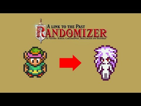 NEW TERRA SPRITE !  A Link to the Past Randomizer