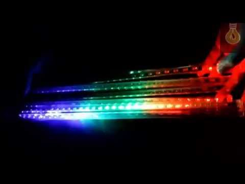 LED Meteor Shower Rain Tubes Waterproof  For Party Decoration Christmas Holiday LED Meteor Light