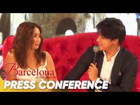 'Barcelona' Press Conference (Daniel: Exclusive kami, bawal ang isa pa) | 'Barcelona: A Love Untold'