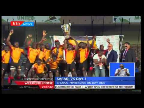 KTN Prime: Uganda are the new Africa 7's champions beating Morans in the semi's, September 24th 2016