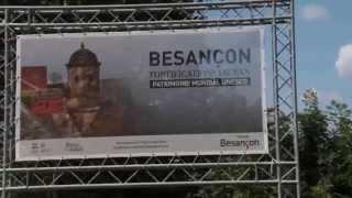Le commissaire Morteau sur Besançon TV