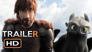Video How To Train Your Dragon 3 Official Trailer #1 (2019) The Hidden World Animated Movie HD MP3, 3GP, MP4, WEBM, AVI, FLV Juni 2018