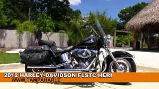8. 2012 Harley Davidson FLSTC Heritage Softail Classic Used Motorcycles for sale