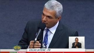 Vídeo da sessão extraordinária da Câmara Municipal de São Paulo, em que o Vereador Celso Jatene parabeniza o Santos...