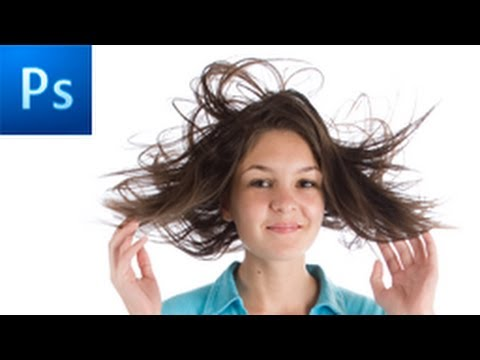 how to isolate hair in photoshop cs5