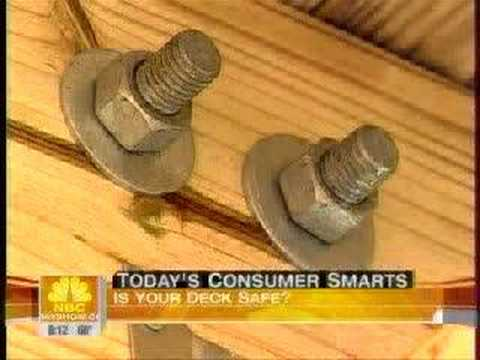 deck - Today Show Segment on Deck Safety featuring Frank Lesh, 2007 ASHI President.