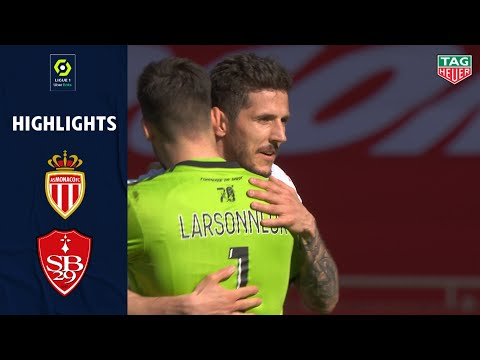 AS MONACO - STADE BRESTOIS 29 (2 - 0) - Highlights - (ASM - SB29) / 2020-2021