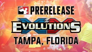 Pokémon Cards - AWESOME Evolutions XY Prerelease Pack Opening! | Tampa, Florida by The Pokémon Evolutionaries