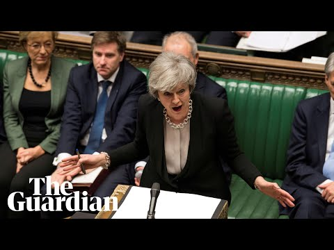 May updates Parliament on Brexit negotiations after EU summit - watch live