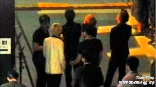 Video [FANCAM] 111129 MAMA SJ at backstage after Perf - Eeteuk meetup with KangSora MP3, 3GP, MP4, WEBM, AVI, FLV Maret 2018