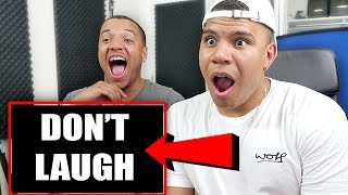 """CAN YOU BEAT THIS CHALLENGE?! This is the hardest and funniest video on YOUTUBE!! TRY IT OUT!Can we smash 35,000 LIKES?! LET'S GO WOLFFAM!!GET MY MERCH HERE►https://www.wolfieraps.comMy parents video: https://youtu.be/kvuYpJLlJxURyan: https://www.youtube.com/RyanSwazeIf you're reading this comment """"ORANGE IS THE NEW RED""""FOLLOW ME:Twitter: https://twitter.com/wolfierapsInstagram: http://instagram.com/wolfieSnapchat: WolfieRapsMain Channel: https://www.youtube.com/WolfieEntMAIL ME STUFF :)PO Box 59071 ALTA VISTA OTTAWA ONK1G 5T7 Music by Epidemic Sound (http://www.epidemicsound.com)"""