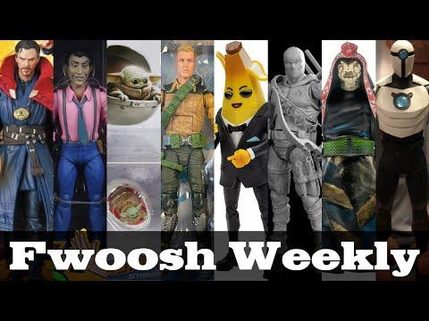 Weekly! Ep192: G.I.Joe, Transformers, TMNT, Fortnite, AEW, Jurassic Park, more Action Figure News!
