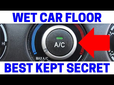 Car Leaking Water On Passenger Floor - EASY FIX!
