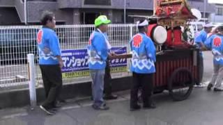 比良賀神社大祭(2)道行き・巡行