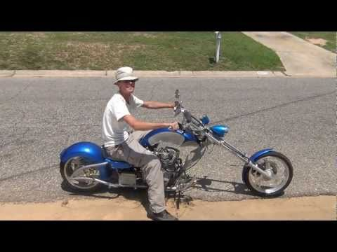 Test Ride - Mini Chopper - Resurrection 4