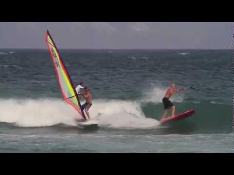 A day of windSUP on Maui
