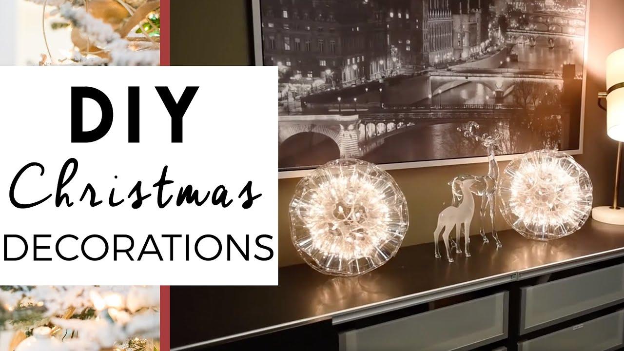 video: Decorazioni di Natale con bicchieri di plastica tr